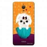 Capa Personalizada para Alcatel Pixi 4 6.0 Cachorro no Pote - DE03