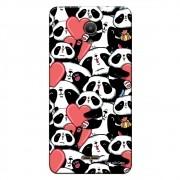 Capa Personalizada para Alcatel Pixi 4 6.0 Love Panda - LV21