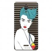 Capa Transparente Personalizada para Alcatel Pixi 4 6.0 Girl - TP265