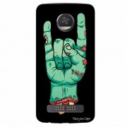 Capa Personalizada para Motorola Moto Z2 Play XT1710 Rock'N Roll - AT06