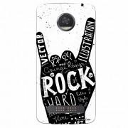 Capa Personalizada para Motorola Moto Z2 Play XT1710 Rock'N Roll - MU31