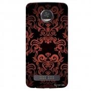 Capa Personalizada para Motorola Moto Z2 Play XT1710 Textura Flores - TX05