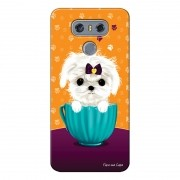 Capa Personalizada para LG G6 H870 Cachorro no Pote - DE03