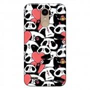 Capa Personalizada para LG K10 Pro M400 Love Panda - LV21