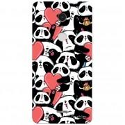Capa Personalizada para Alcatel A3 XL Love Panda - LV21