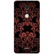 Capa Personalizada para Alcatel A3 XL Textura Flores - TX05