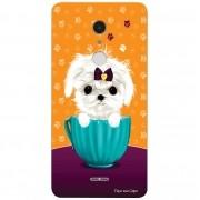 Capa Personalizada para Alcatel A3 XL Cachorro no Pote - DE03