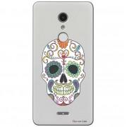 Capa Personalizada para Alcatel A3 XL Caveira Mexicana - TP240