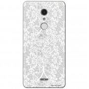 Capa Personalizada para Alcatel A3 XL Renda Branca - TP283