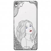 Capa Transparente Exclusiva para Sony Xperia L1 5.5 G3311 Girl - TP266