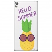 Capa Transparente Exclusiva para Sony Xperia L1 5.5 G3311 Hello Summer - TP322