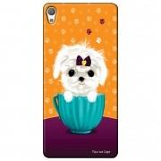 Capa Personalizada para Sony Xperia L1 5.5 G3311 Cachorro no Pote - DE03