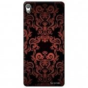 Capa Personalizada para Sony Xperia L1 5.5 G3311 Textura Flores - TX05