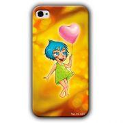 Capa Personalizada Exclusiva Apple Iphone 4 / 4s - DE07
