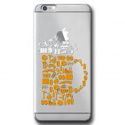 Capa Transparente Personalizada Exclusiva Apple Iphone 6/6s - TP06