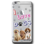 Capa Transparente Personalizada Exclusiva Apple Iphone 6/6s Dogs - TP69