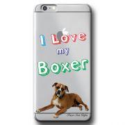 Capa Transparente Personalizada Exclusiva Apple Iphone 6/6s Boxer - TP73