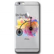 Capa Transparente Personalizada Exclusiva Apple Iphone 6 6S Plus - TP57
