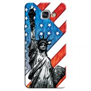 Capa Personalizada Exclusiva Samsung Galaxy A7 2016 SM-A710 Cidade E.U.A. - CD13