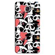 Capa Personalizada para Samsung Galaxy A7 2016 Love Panda - LV21