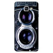 Capa Personalizada Exclusiva Samsung Galaxy A7 2016 SM-A710 Textura Câmera Fotográfica - TX56