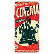 Capa Personalizada Exclusiva Samsung Galaxy A7 2016 SM-A710 Vintage Cinema - VT08