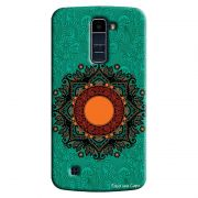 Capa Personalizada Exclusiva LG K10 TV K430DSF Mandala Artística - AT24