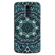 Capa Personalizada Exclusiva LG K10 TV K430DSF Mandala Artística - AT72