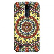 Capa Personalizada Exclusiva LG K10 TV K430DSF Mandala Artística - AT79