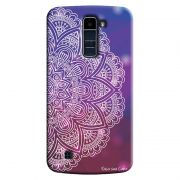 Capa Personalizada Exclusiva LG K10 TV K430DSF Mandala Artística - AT80