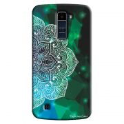 Capa Personalizada Exclusiva LG K10 TV K430DSF Mandala Artística - AT81