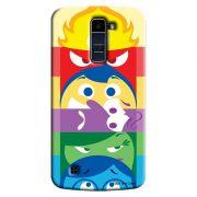 Capa Personalizada Exclusiva LG K10 TV K430DSF Divertidamente Totem - DE11