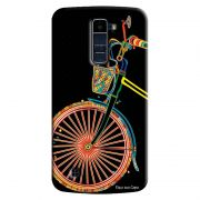Capa Personalizada Exclusiva LG K10 TV K430DSF Bicicleta - EP38