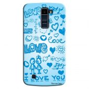 Capa Personalizada Exclusiva LG K10 TV K430DSF Love - LV03