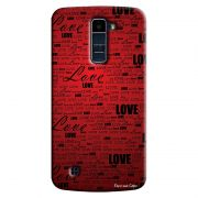 Capa Personalizada Exclusiva LG K10 TV K430DSF Love - LV06