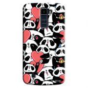 Capa Personalizada para LG K10 TV K430DSF Love Panda - LV21