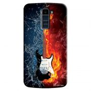 Capa Personalizada Exclusiva LG K10 TV K430DSF Guitarra - MU23