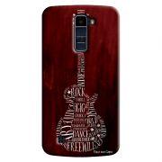 Capa Personalizada Exclusiva LG K10 TV K430DSF Guitarra - MU36