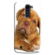 Capa Personalizada Exclusiva LG K10 TV K430DSF Pets Cachorro - PE43
