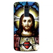 Capa Personalizada Exclusiva LG K10 TV K430DSF Religiosa Jesus - RE02
