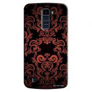 Capa Personalizada para LG K10 TV K430DSF Textura Flores - TX05