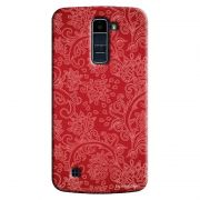Capa Personalizada Exclusiva LG K10 TV K430DSF Textura Folhagens - TX06