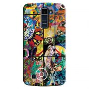 Capa Personalizada Exclusiva LG K10 TV K430DSF Textura Mosaico - TX19