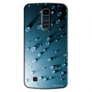 Capa Personalizada para LG K10 TV K430DSF Textura Gotas'd Água - TX23