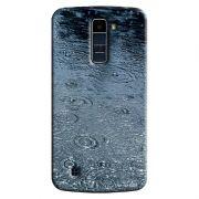 Capa Personalizada para LG K10 TV K430DSF Textura Pingos'd Água - TX24