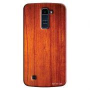 Capa Personalizada para LG K10 TV K430DSF Textura Madeira - TX45