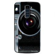 Capa Personalizada para LG K10 TV K430DSF Textura Câmera Fotográfica - TX51