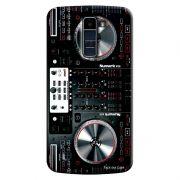Capa Personalizada para LG K10 TV K430DSF Textura Mesa DJ - TX55