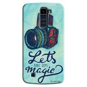 Capa Personalizada Exclusiva LG K10 TV K430DSF Vintage Let´s Make Some Magic - VT16