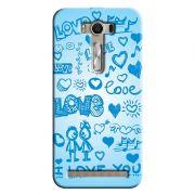 Capa Personalizada para Asus Zenfone 2 Laser ZE550KL Love - LV03